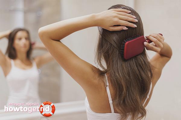 Как избежать запутывания волос