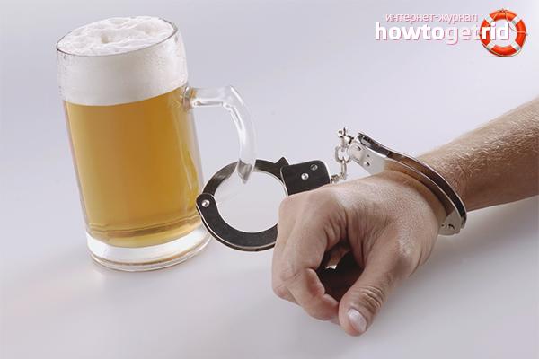 Как самостоятельно бросить пить пиво