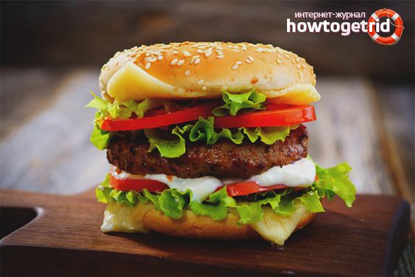 Как приготовить гамбургер