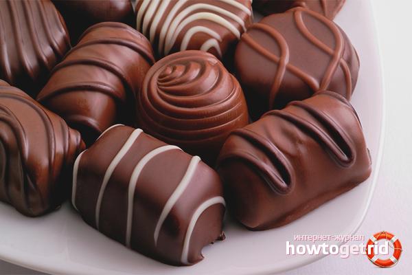 Как сделать шоколадные конфеты