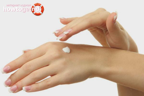 Как смягчить кожу рук