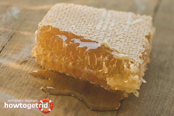 Как употреблять медовые соты для здоровья