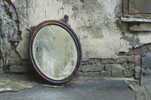 Как выбросить зеркало