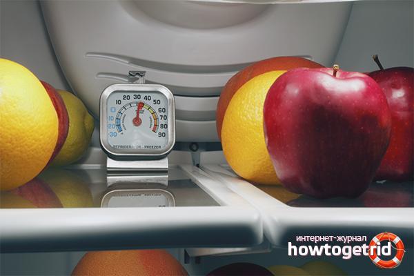 Температурный режим в холодильнике