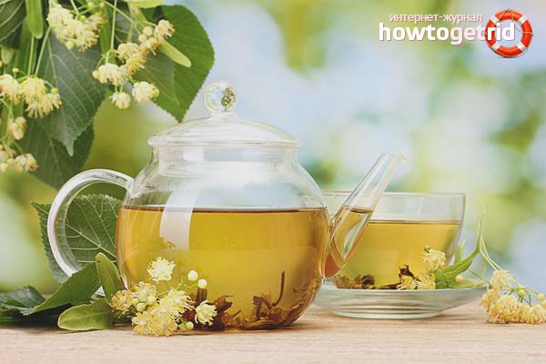 Чай из цветков липы от простуды