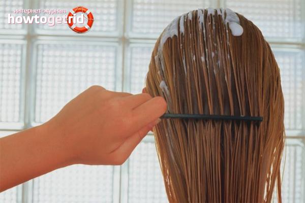 Использование мусса на разных волосах