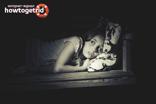 Как помочь ребенку избавиться от страха темноты