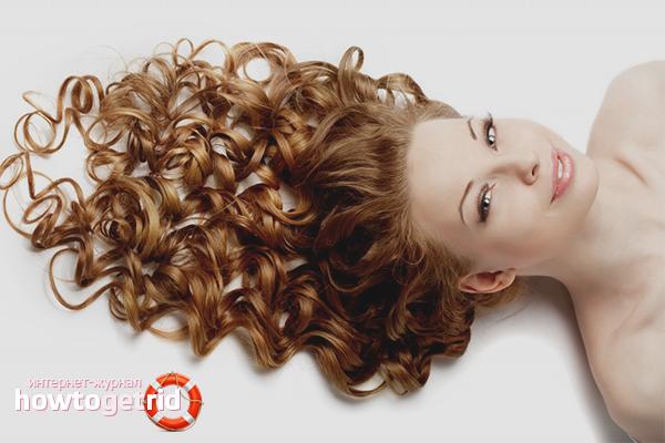 Как завить волосы надолго