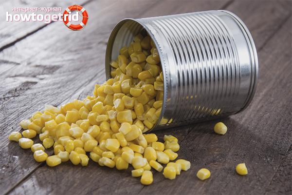 Как консервировать кукурузу