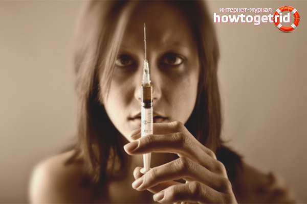 Как наркоман маскирует следы от уколов