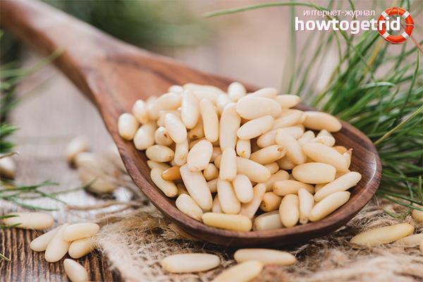 Как почистить кедровые орешки от скорлупы