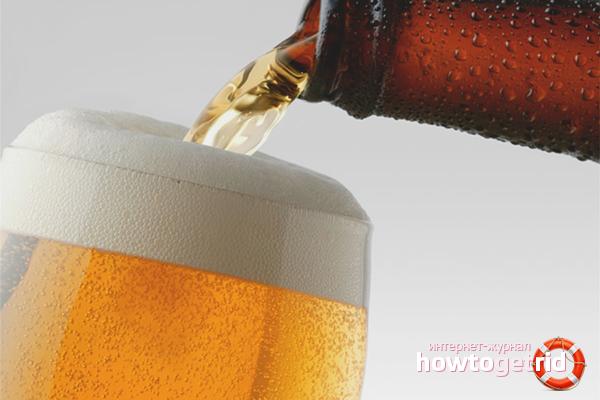 Как разлить пиво