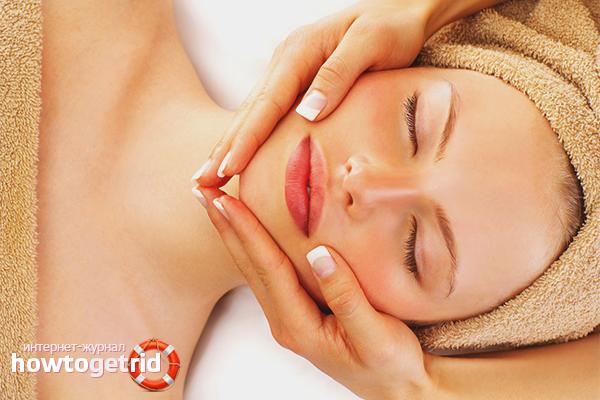 Массаж для повышения упругости кожи лица