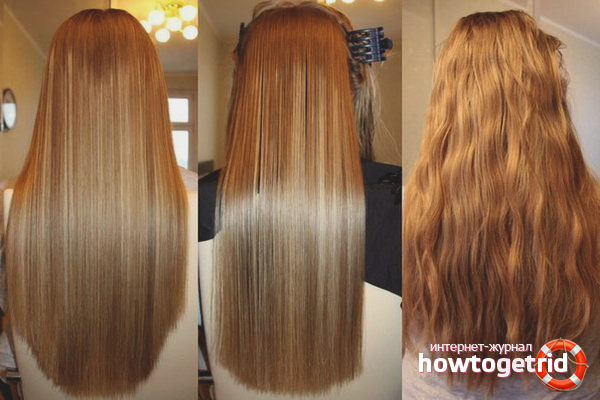 Профессиональное ламинирование волос