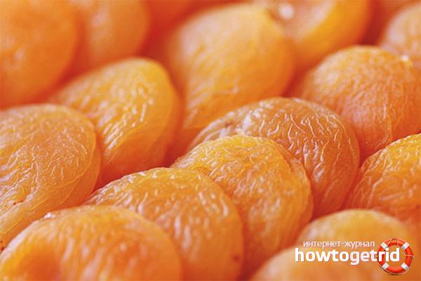 Сушка абрикос на солнце