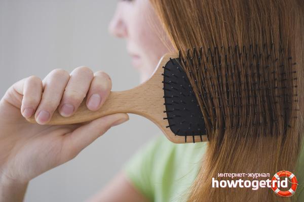 Укладка и расчёсывание тонких волос