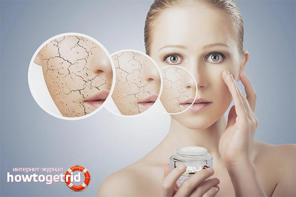 Аптечные препараты от шелушения кожи лица