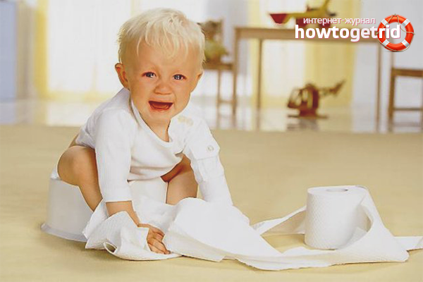 Что делать при регулярных запорах у новорожденного