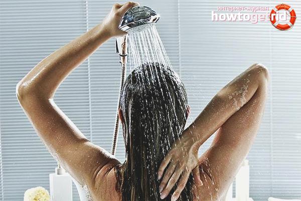 Холодный душ от похмелья