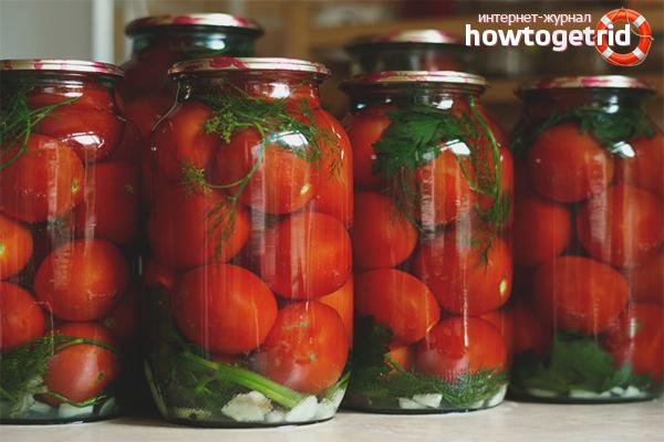 Как консервировать помидоры на зиму