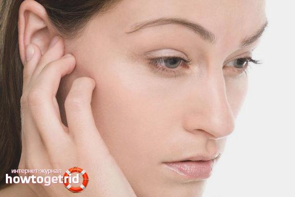 Как лечить заложенность уха