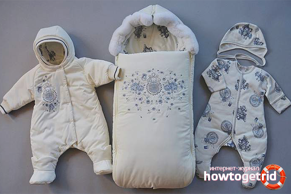 Как одеть новорожденного на выписку зимой