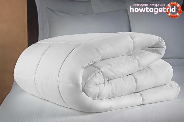 Как постирать ватное одеяло