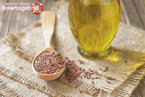 Как принимать для похудения льняное масло