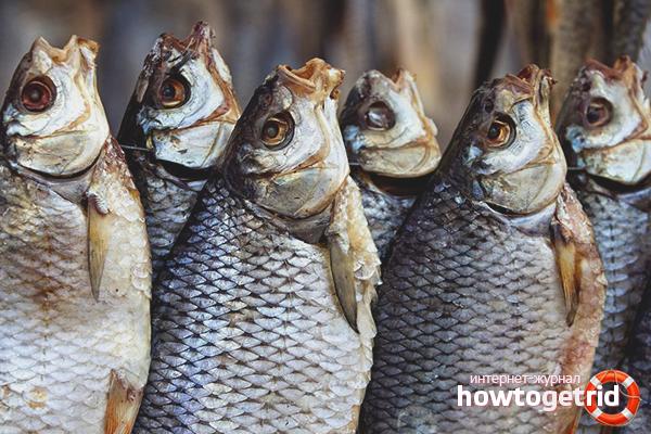 Как сохранить сушеную и вяленную рыбу