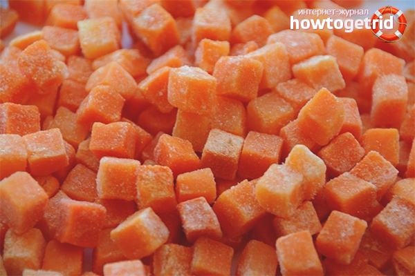 Как заморозить морковь на зиму
