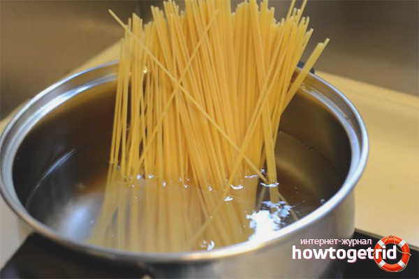 Нужно ли ломать спагетти