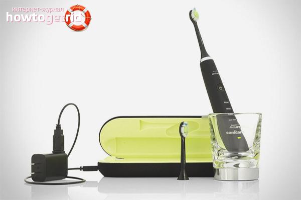 Особенности выбора электрической зубной щётки