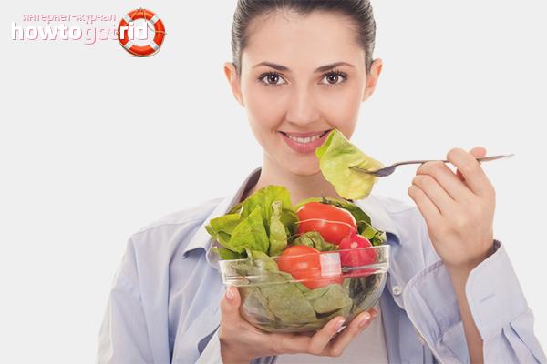 Питание при жирной кожи лица