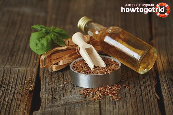 Покупка и хранение льняного масла