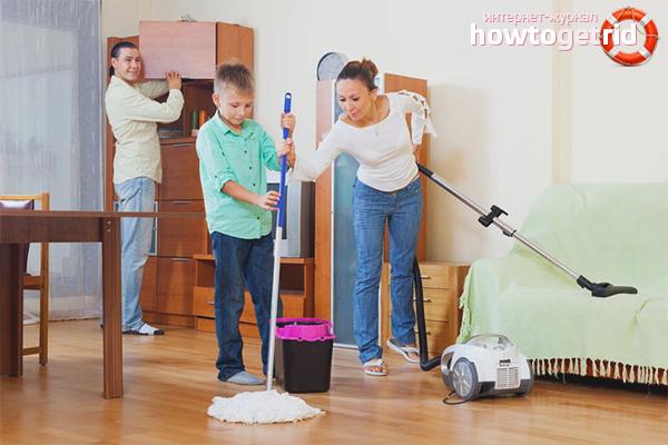 Семейные обязанности подростка