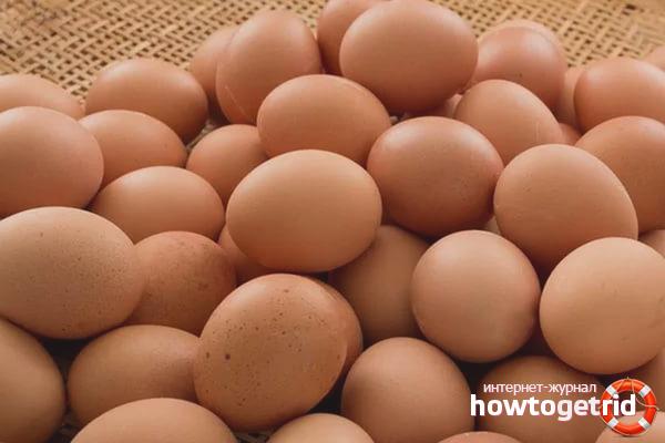 Странные методы хранения яиц