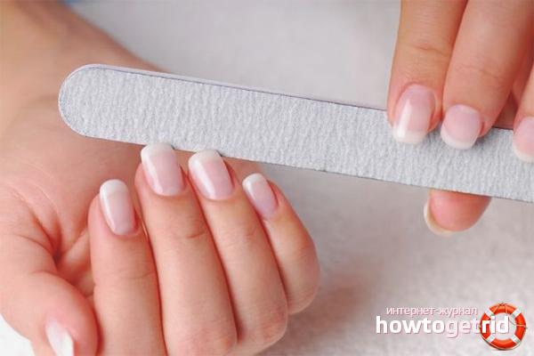 Абразивность пилок для ногтей