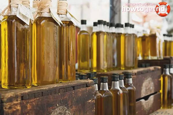 Как хранить нерафинированное масло