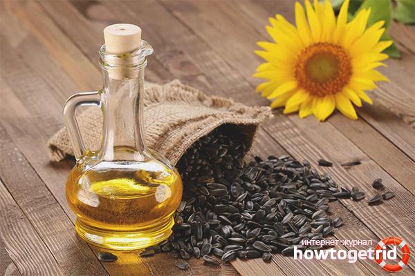 Как хранить подсолнечное масло