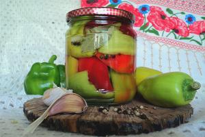 Как мариновать болгарский перец на зиму