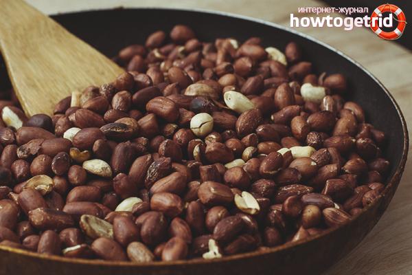 Как пожарить арахис на сковороде