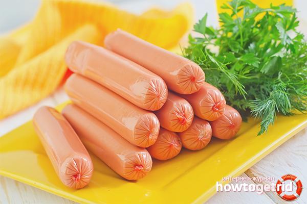 Как правильно варить сосиски