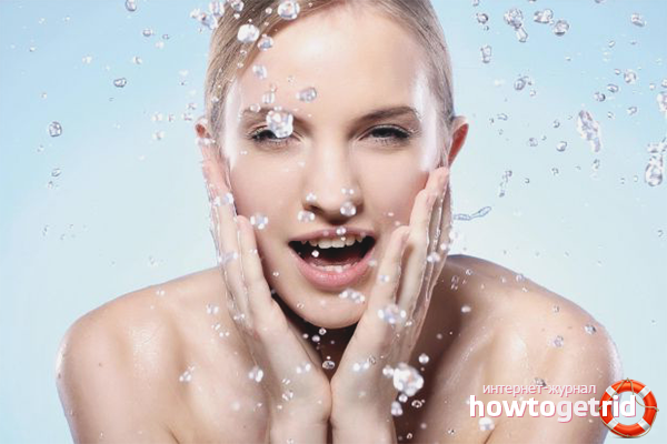Как умывать лицо