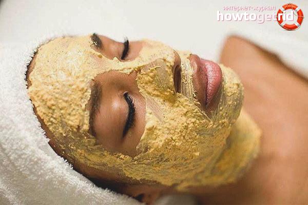 Маски против купероза на лице