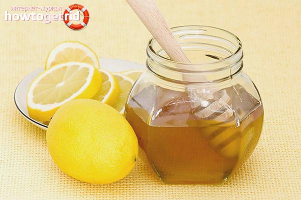 Мёд из одуванчиков и лимона