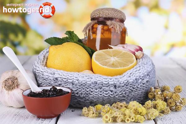 Народные средства для предотвращения простуды
