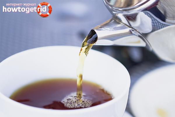 Роль воды в заваривании чёрного чая