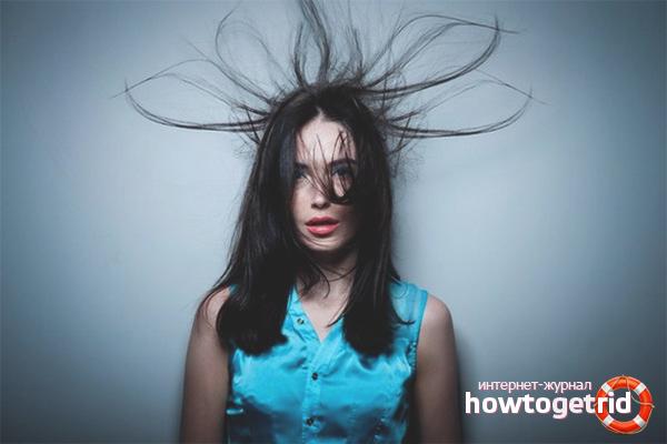 Что сделать, чтобы волосы не электризовались