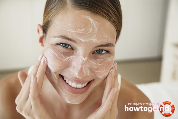 Домашние скрабы для отшелушивания кожи лица