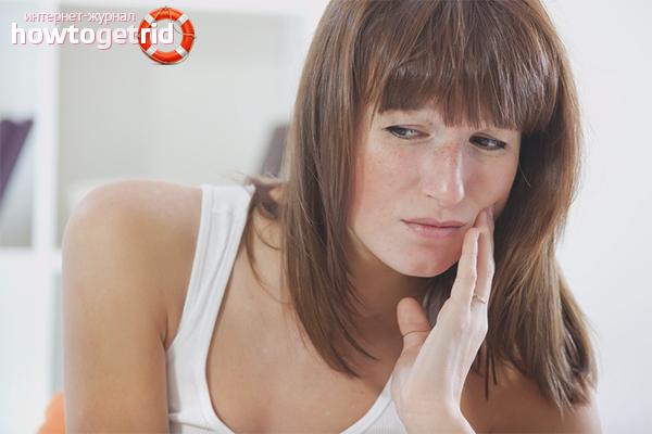 Как облегчить зубную боль